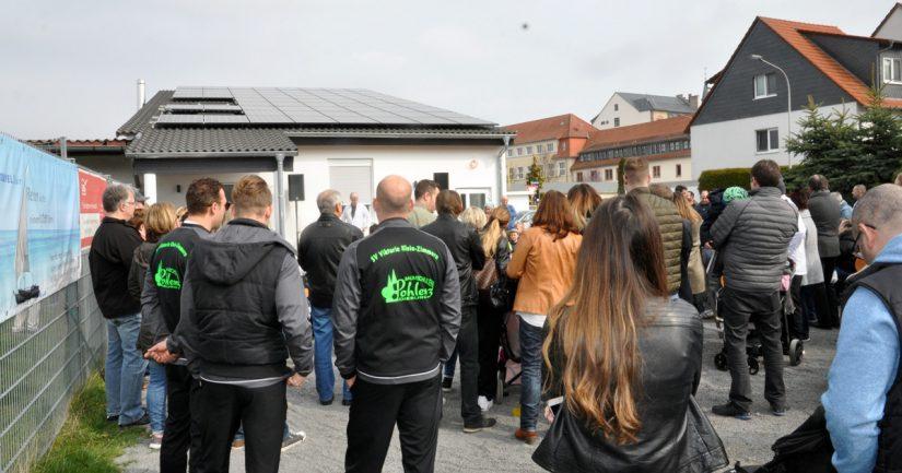 Einweihung des Neubaus beim SV Viktoria Klein-Zimmern