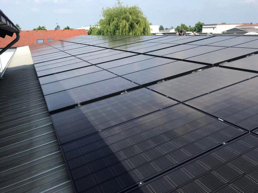 Foto: Solaranlage bei Frankfurt