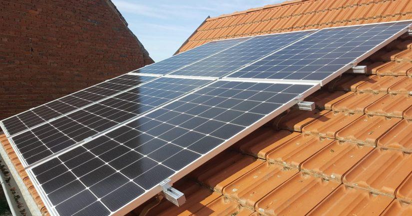 Kleine Solaranlage im Odenwald fertiggestellt